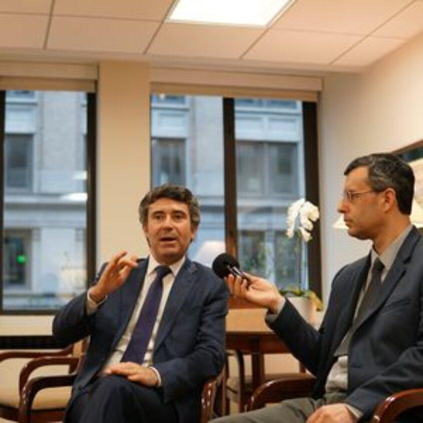 Entrevista com o Secretário de Estado das Comunidades Portuguesas